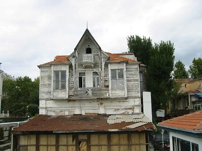Wooden building, Asian side of Istanbul