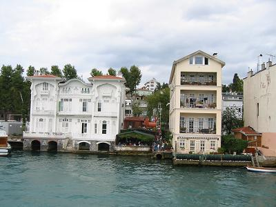 Houses on the Bosphorus, Istanbul