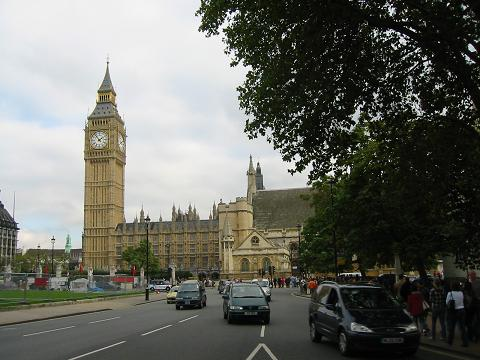 Big Ben and Parliament House, London